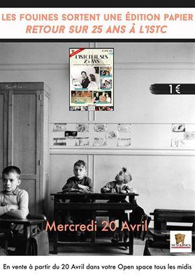 Affiche promotionnelle vente journal